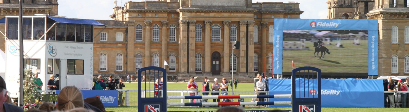 Blenheim Palace Main Arena