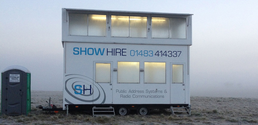 Show Hire - Radio communications and Public address hire